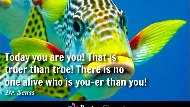 YOU HAVE TO KNOW YOURSELF TO BE YOURSELF!
